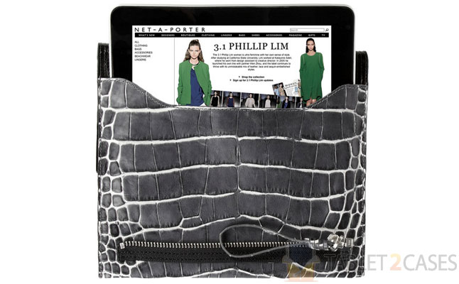 Pashli Crocodile-effect Clutch from 3.1 Philip Lim review