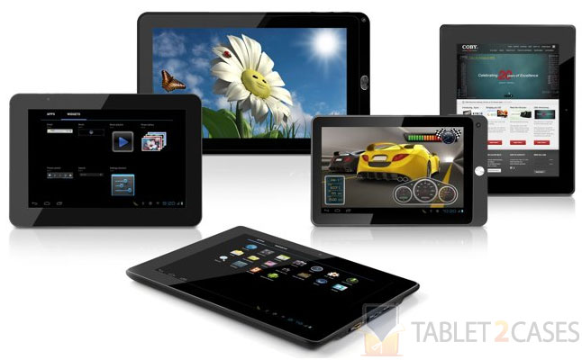 Coby Android 4.0 tablets