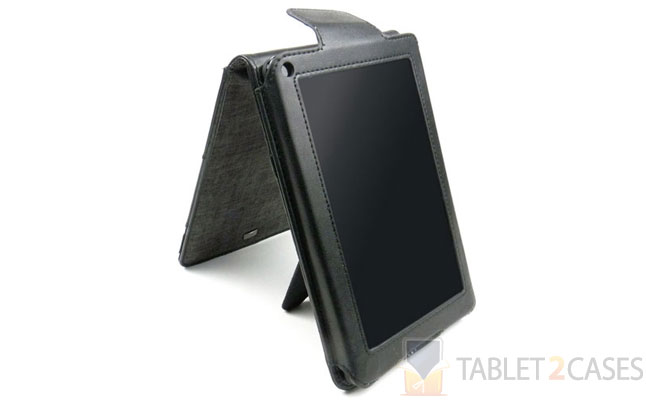 Amazon Kindle Fire Charcoal Flip Case from JAVOedge review
