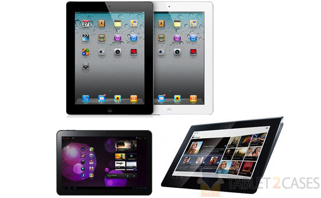 Top 5 tablets for 2012