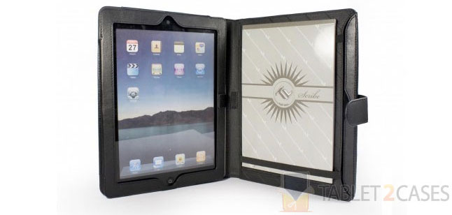 Tuff-Luv Scribe Folio Stasis for iPad 2