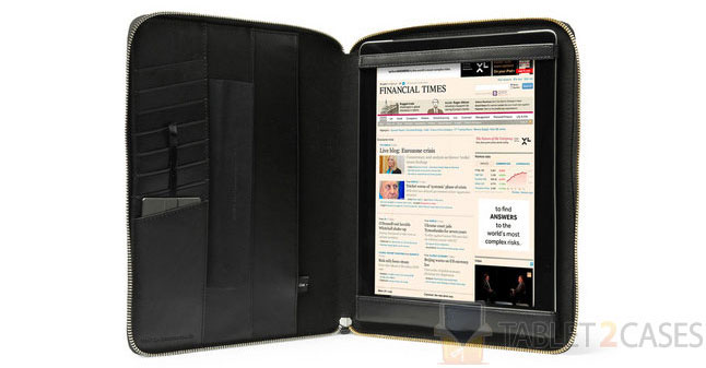 Want Les Essentiels Narita Textured Leather iPad 2 Case screenshot