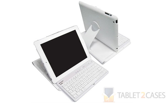 360 Degree Rotating iPad 2 Keyboard Case