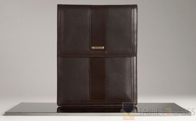 Textured Leather iPad Sleeve from Burberry review
