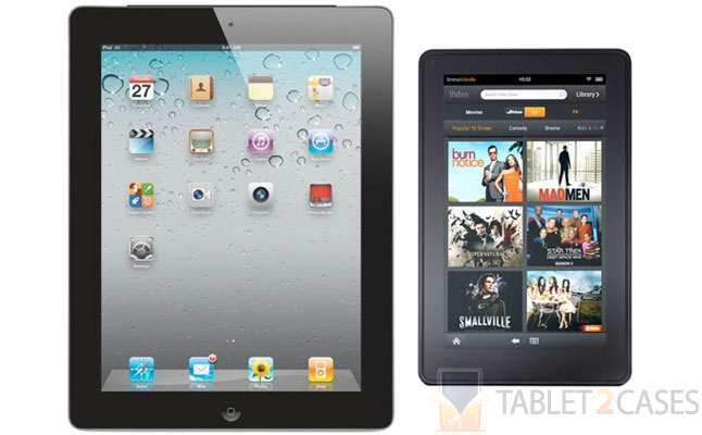 iPad vs Kindle Fire sales