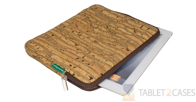 Michael Roger Landmade Cork iPad 2 Sleeve