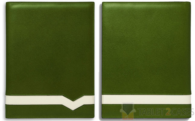 Valextra Cross Grain Leather iPad 2 Case