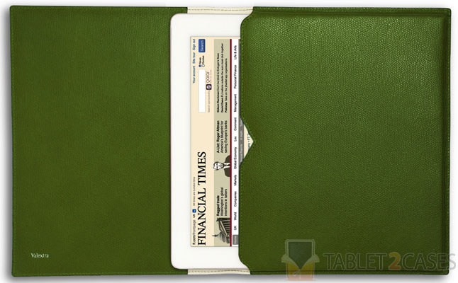 Valextra Cross Grain Leather iPad 2 Case screenshot