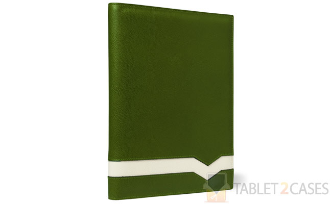 Cross Grain Leather iPad 2 Case from Valextra