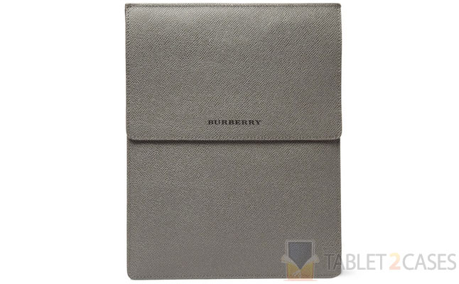 Burberry Gross Grain Leather iPad Case