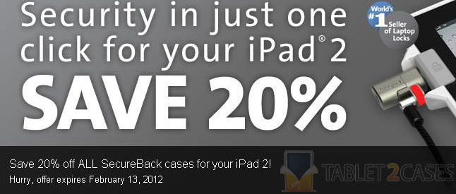 Kensington SecureBack for iPad 2 sale