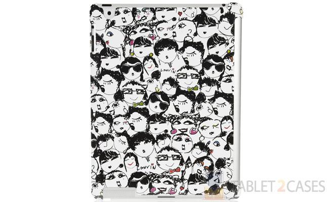 Lanvin Face Print iPad Holder