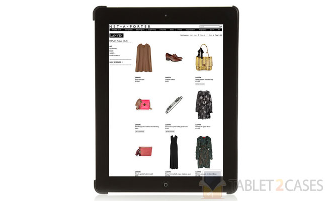 Face Print iPad Holder from Lanvin review