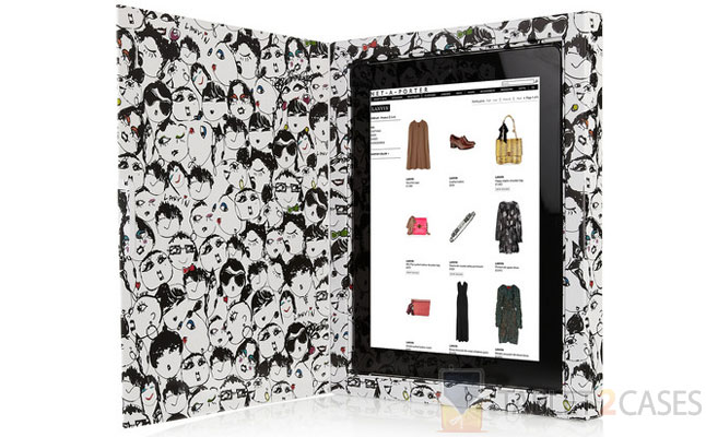 Face Print iPad Holder from Lanvin screenshot