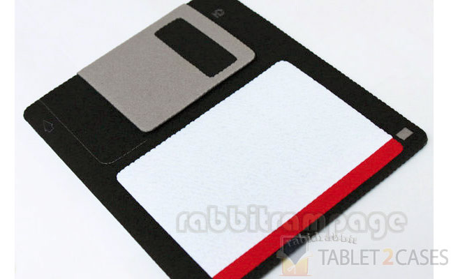 Rabbit Rampage Diskette Felt iPad Case