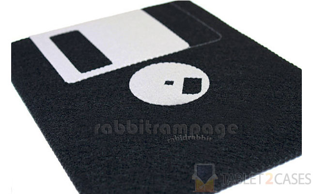 Rabbit Rampage Diskette Felt iPad Case screenshot