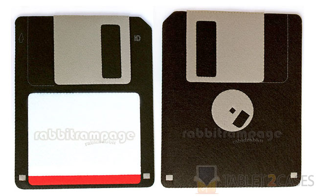 Diskette Felt iPad Case from Rabbit Rampage