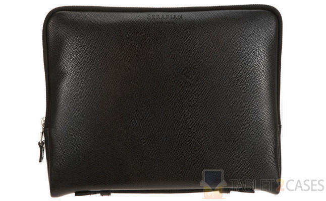 Serapian Leather iPad Zip Case