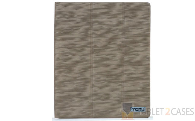 TORU LUXI Khaki Epi Case for iPad 2