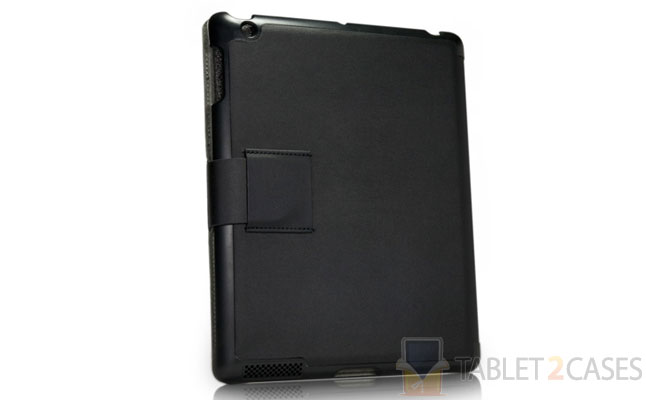 BoxWave Nero Leather Smart Nuovo iPad Case screenshot