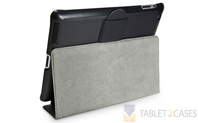Nero Leather Smart Nuovo iPad Case from BoxWave
