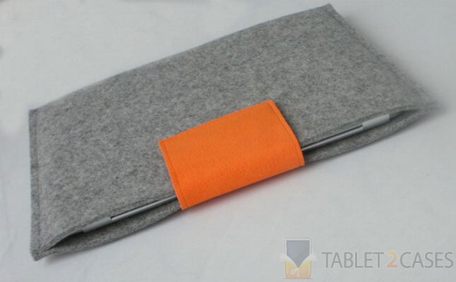 Case Closed Grey German Wool Felt Case