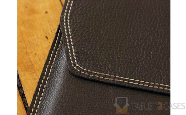 Leather Case for iPad from Falcon Gray