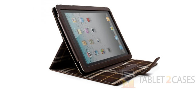 New iPad Leather Case with Aluminum Lining from Proporta