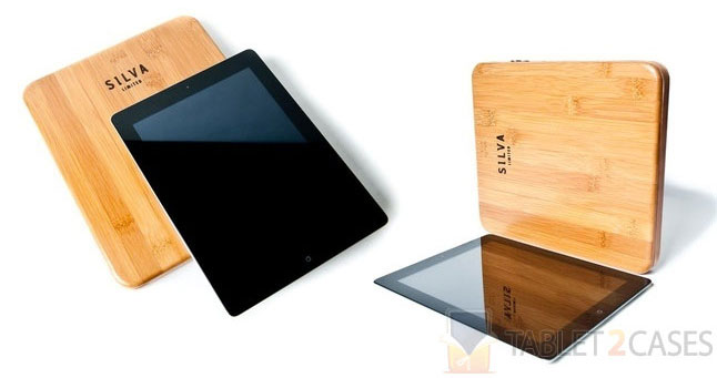 Bamboo iPad 2 Case from Silva LTD