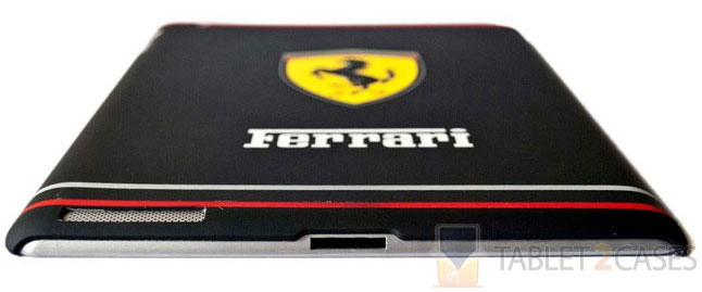 Ferrari Themed iPad 2 Hard Case