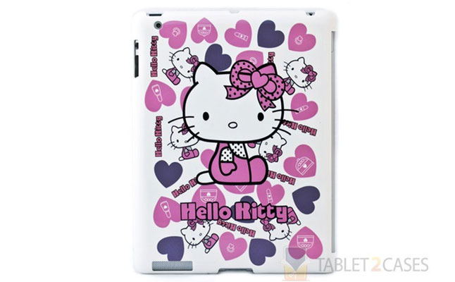 Hello Kitty Themed iPad 2 Back Protector