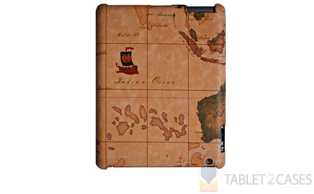 iPad 2 Protector Map Case