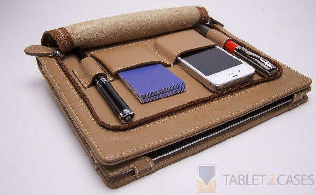 Luxury Leather iPad Folio Business Case from Lusso Cartella