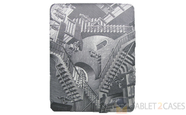 LuxMobile Group M.C. Escher-Relativity iPad 2 Case