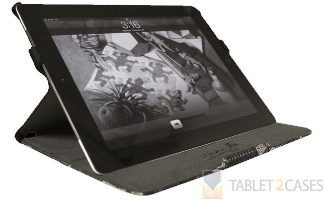 LuxMobile Group M.C. Escher-Relativity iPad 2 Case screenshot