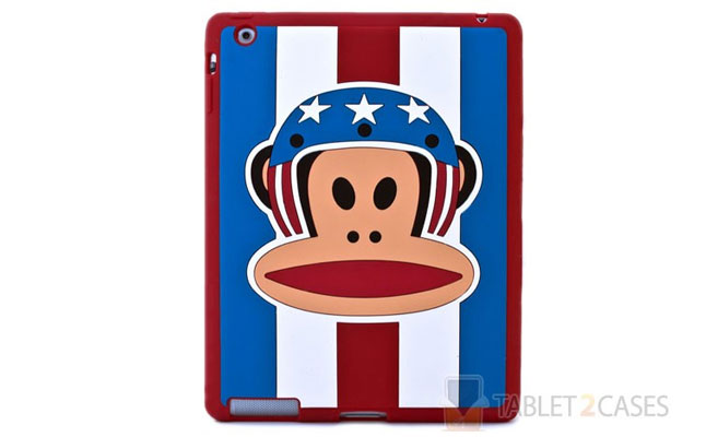 Paul Frank Themed iPad 2 Protector Case in Red Pilot