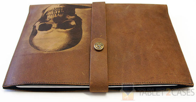 Joe V. Leather Skull iPad Sleeve