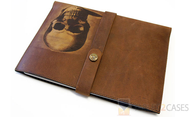 Joe V. Leather Skull iPad Sleeve screenshot
