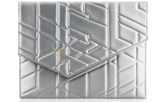 Wardmaster Universal iPad Envelope Case in Silver