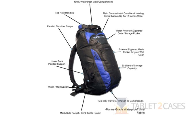 Waterproof Backpack from DryCASE