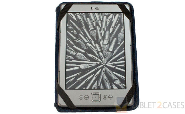 Tardis Kindle Leather Cover from Joe V. Leather