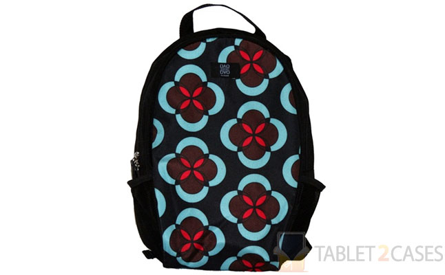 Nuo Tech Mini Backpack - Abstract Floral