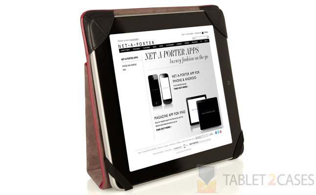 Intrecciato Leather iPad Case from Bottega Veneta
