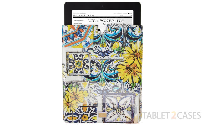 Dolce & Gabbana Printed Patent-leather iPad Sleeve screenshot