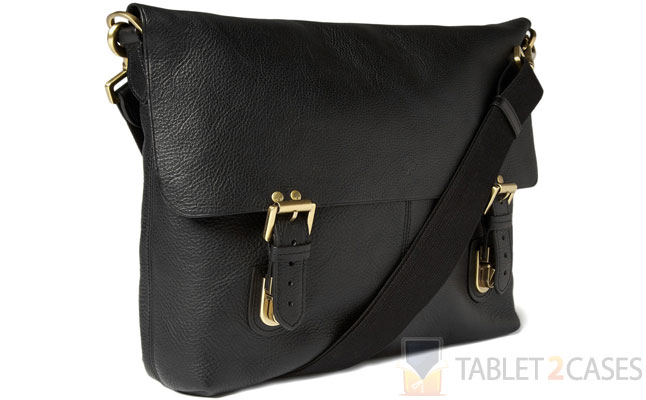 Mulberry Barnaby Leather Messenger Bag screenshot