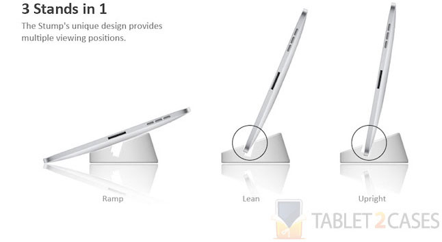 Stump Stand for tablets