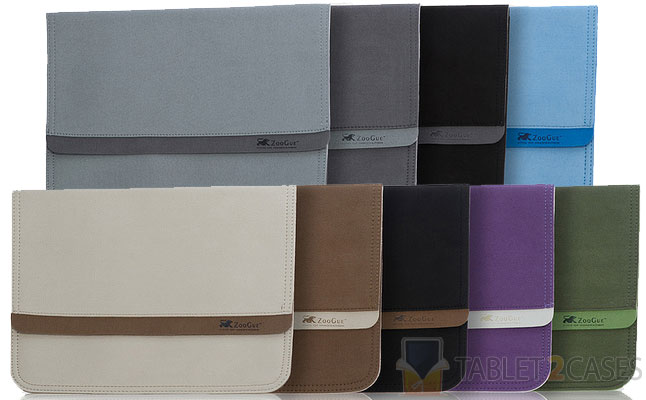 Microfiber iPad Sleeve from Zoogue review