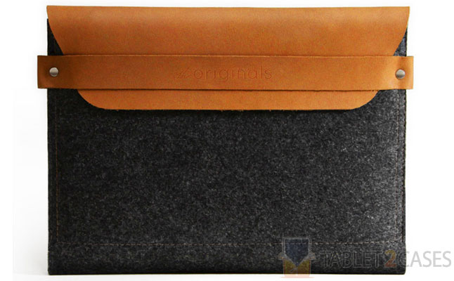 Mujjo iPad Sleeve Brown