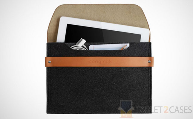 Mujjo iPad Sleeve Brown screenshot