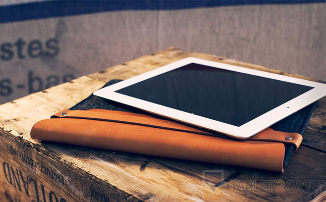 iPad Sleeve Brown from Mujjo review